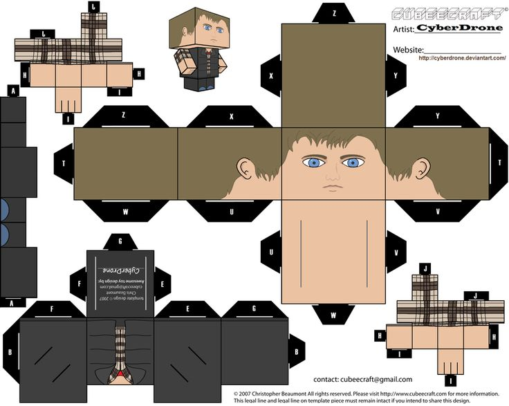 Cubee - Rory Williams 'Ver2' by CyberDrone.deviantart.com on @deviantART