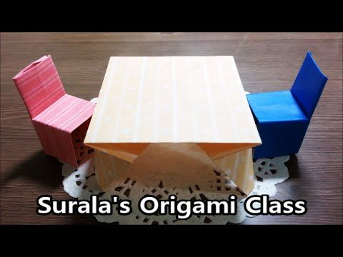 How to make a Doll House Bed with Bedding Origami (Paper craft) - TCGames [HD]! - YouTube