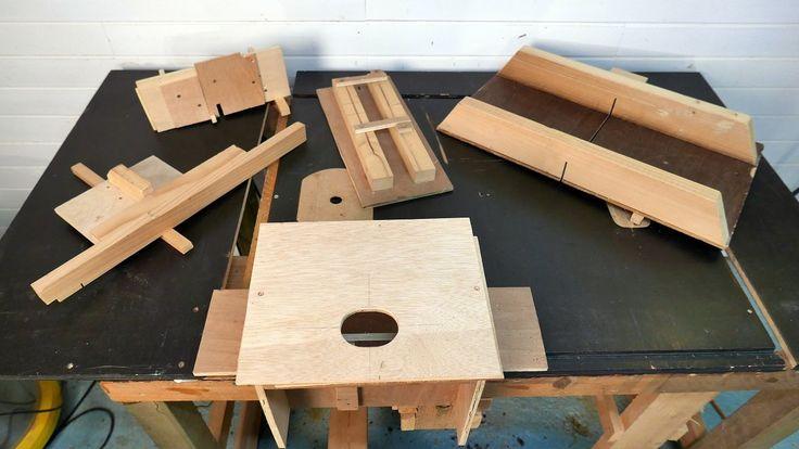 Cómo hacer, paso a paso, 10 guías de carpintería gratis. Para usar con la fresadora, con la sierra circular, en la mesa fresadora y en la sierra de mesa.