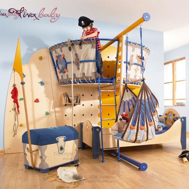 Cute Pirate Room