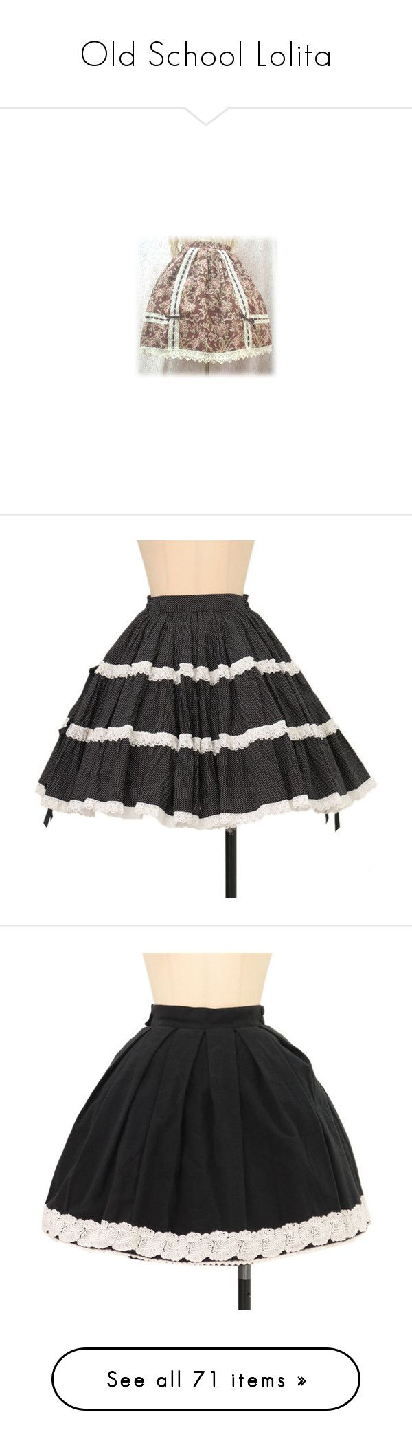 """""""Old School Lolita"""" by filthyqueen ❤ liked on Polyvore featuring skirts, wet look skirt, shiny skirt, brown skirt, shoes, costumes, cowgirl halloween costume, cosplay halloween costumes, gothic lolita costume and goth halloween costumes"""