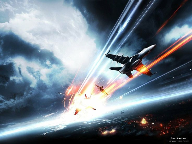 Battlefield 4 Air Planes Attack 2013 Poster HD Game Wallpaper