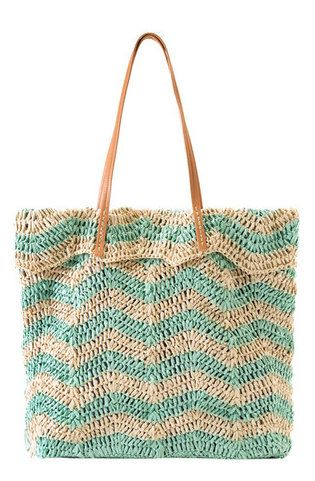 Maura Tote in Mint