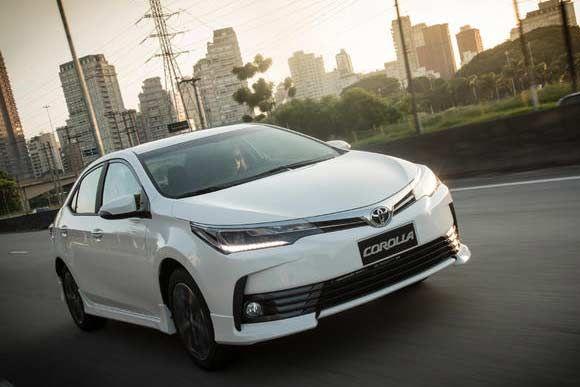 Ficha técnica completa do Toyota Corolla XEi 2.0 AT 2018