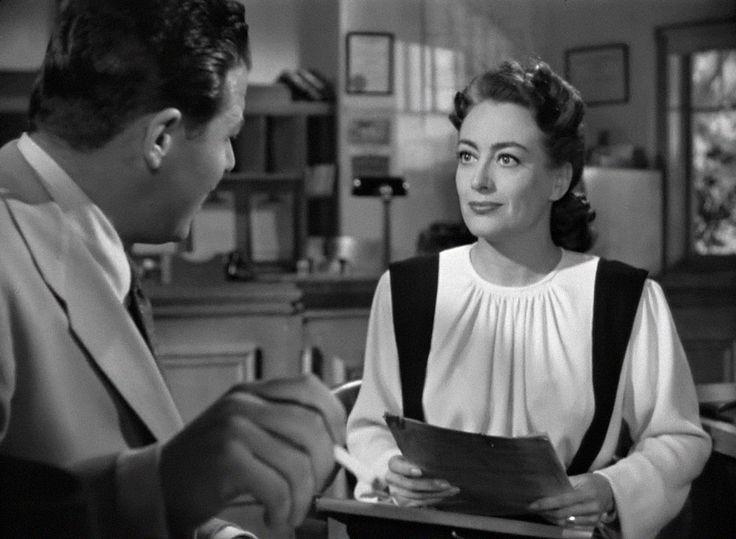 """Mildred Pierce"" (1945) , Film Noir, Jack Carson and Joan Crawford"