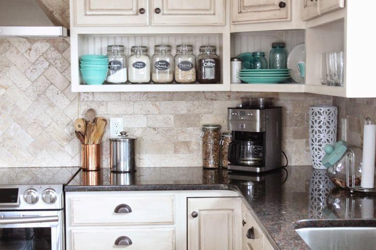 Günstige Küche umgestalten Ideen kleine Küche Designs