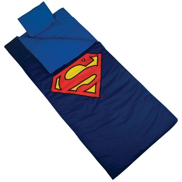 Superman Shield Kids Sleeping Bag