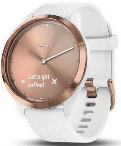 fec8c0ed65ce Garmin Watch Vivomove HR White Rose Gold (Target)