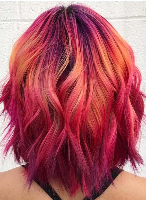Best 25 Bright Pink Hair Ideas On Pinterest Hot Pink