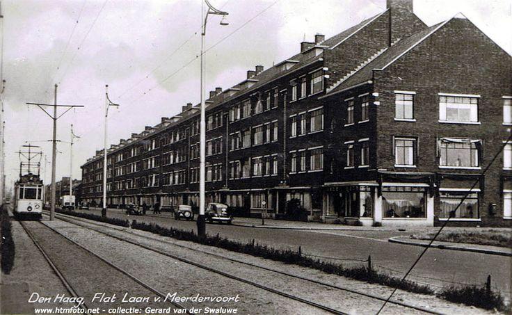 Laan van Meerdervoort-Kersenstraat, ca. eind jaren `40(?)
