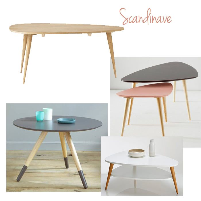 1000 id es propos de tables basses sur pinterest - Table basse style scandinave ...
