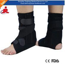 Haute qualité CE FDA approuvé respirant médicale cheville bretelles brace sport fracture soutien de la cheville