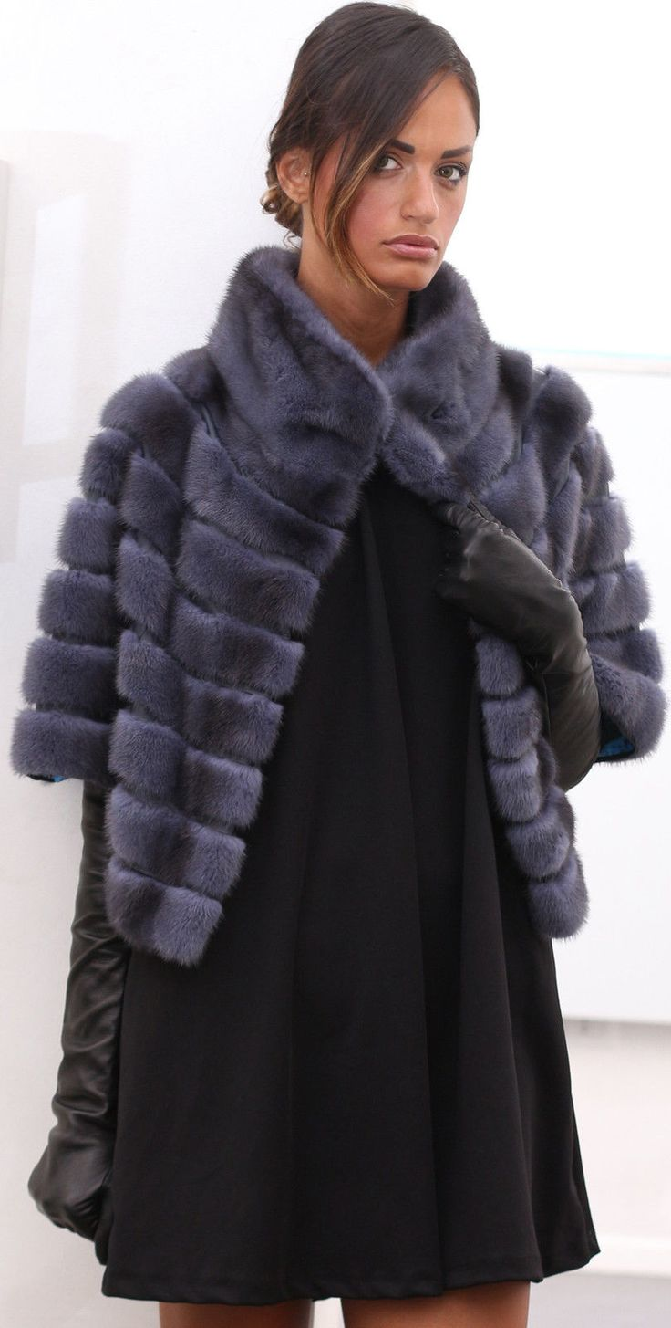 GIACCA VISONE FUR COAT PELLICCIA PELZMANTEL JACKET NERZ MINK FOURRURE MEX норки   eBay