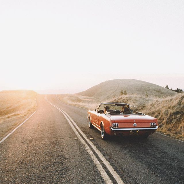 part of my road trip will be in a 60s mustang convertible http://finelinedrivingacademy.co.uk