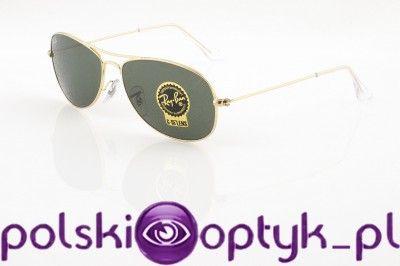 RayBan RB 3362 001 #okulary #glasses #eyewear #eyeglasses #oprawki #sunglasses #rayban #ray-ban #aviator