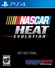 Boxshot: NASCAR Heat Evolution by DMi