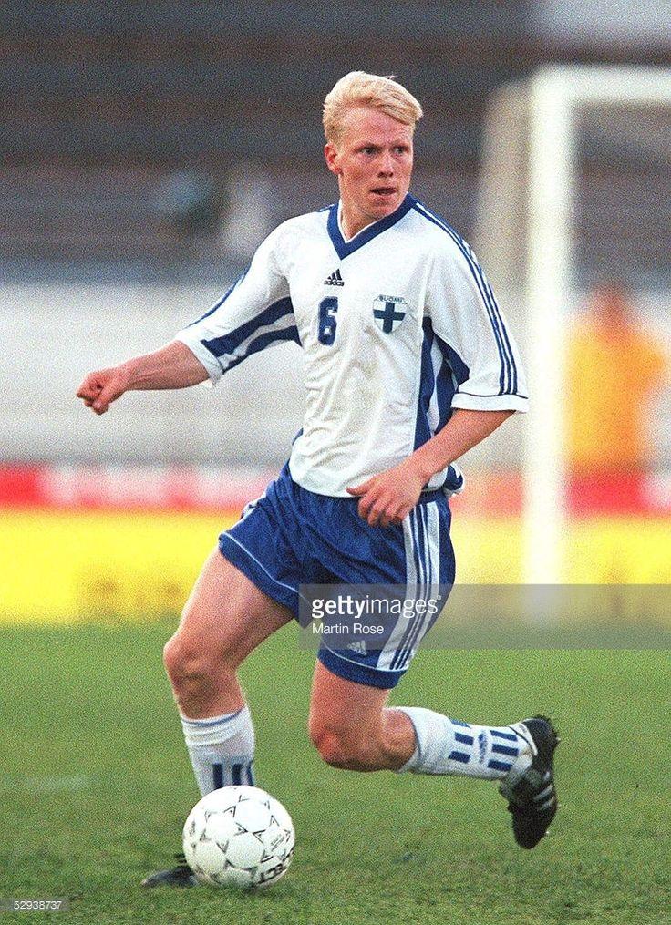LAENDERSPIEL 1998, FINNLAND - DEUTSCHLAND 0:0; Aki RIIHILAHTI/FIN