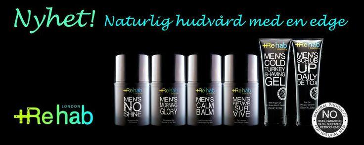Rehab London. Naturlig hudvård för män från England. http://www.grooming.se/varumarken/rehab_london.html