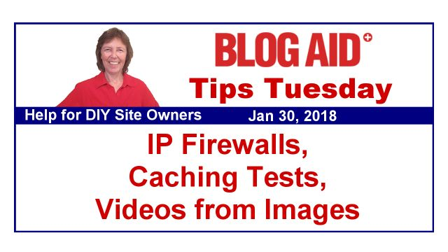 I'm working with MaAnna at BlogAid right now on a project. She's great - lots of free info at her site in non-geek speak!