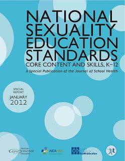 National Sexuality Education Standards - Core Content and Skills, K-12. This is inappropriate. Common Core has to be stopped.