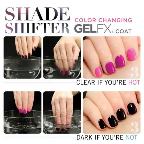 Nail Polish Change Color Water