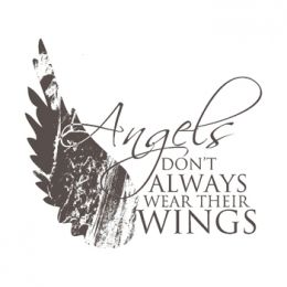 Angel Wing Unmounted Stamp