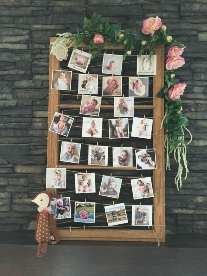 1001 Ideas Originales Sobre Cómo Decorar Con Fotos