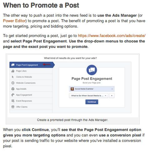 popular social media examiner #facebook article #promoted or #campaign