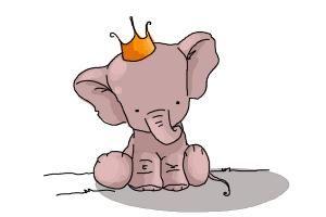 cute elephant drawings | How to draw a cute Elephant