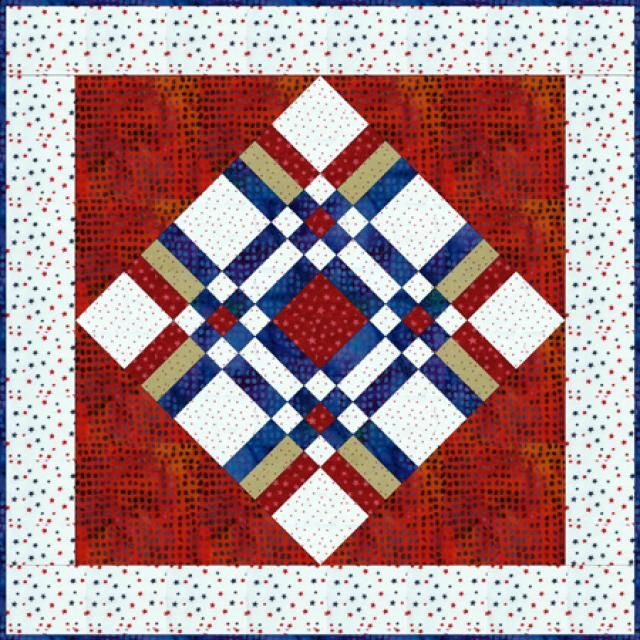 Try This Easy Album Quilt Pattern to Make a Comfy Picnic Quilt: About the Album Quilt Pattern