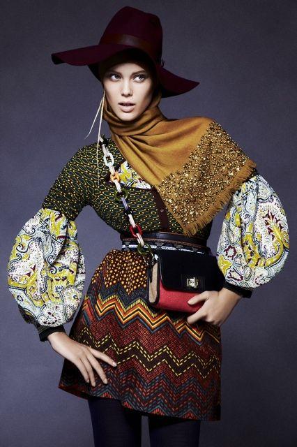 SABRINA HENRY - | Folklore beauty hijab, ideas for photo shoots, muslim, modest clothing, hijab style, fashion, хитжаб