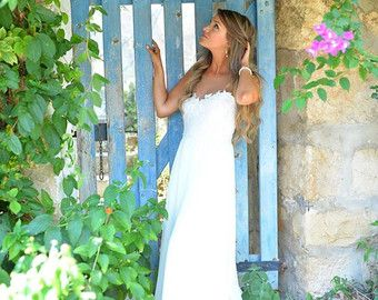 Victoria  Boho wedding dress  bohemian wedding dress by TheBride2B