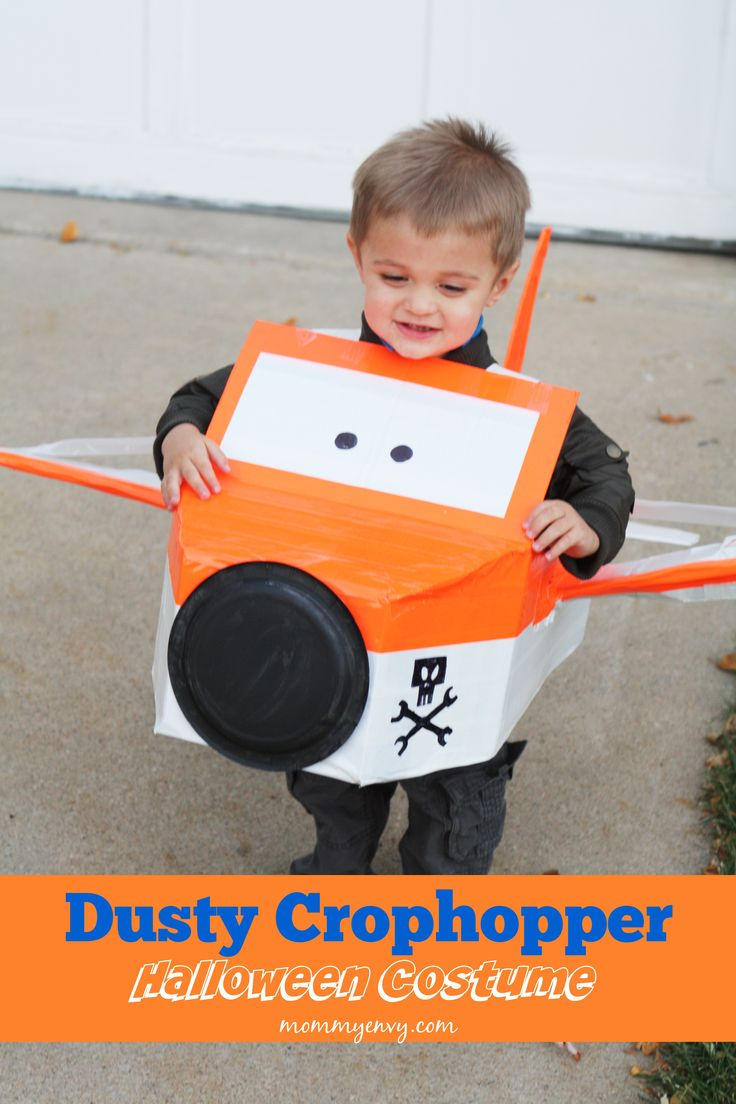 Planes Themed Family Halloween Costumes