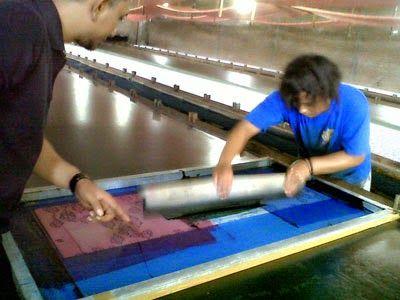 Seragam batik solo printing kalinggo batik