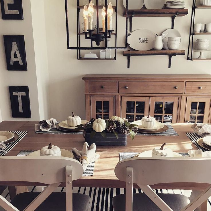 Kitchen Decor Stores: Wasn't @mashiiee's Thanksgiving Tablescape Perfect? Simple