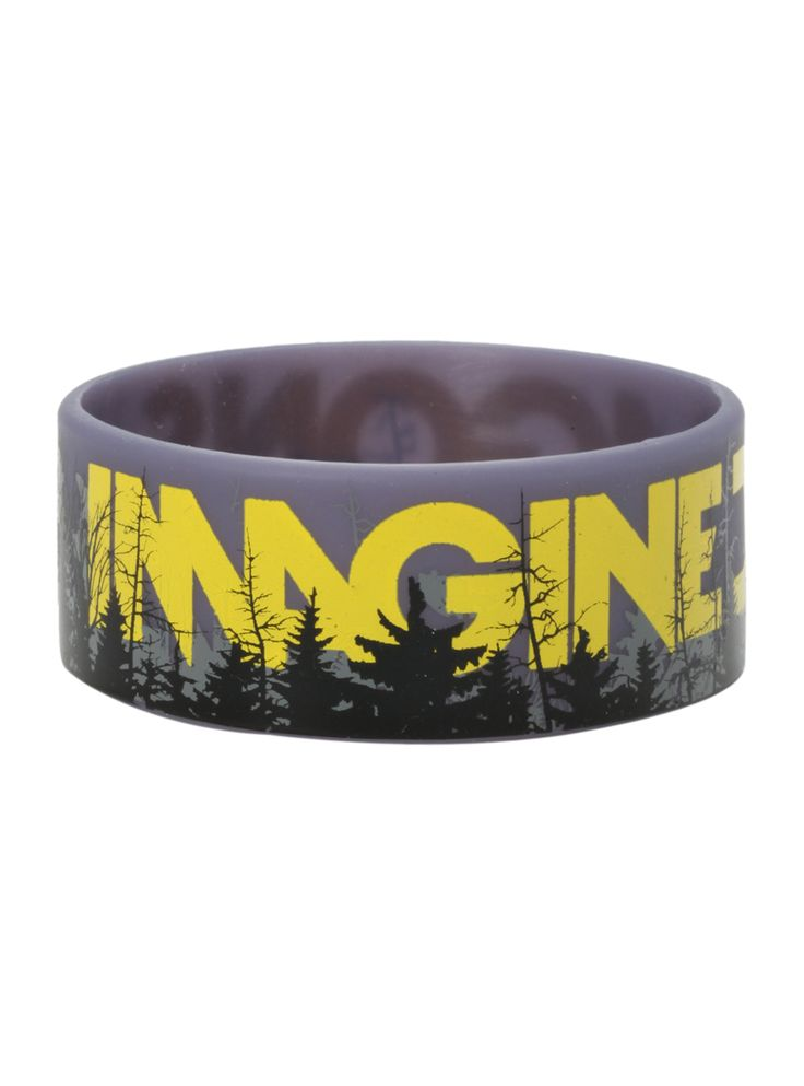 Imagine Dragons Forest Rubber Bracelet Hot Top Dude This