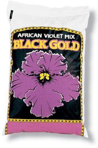 Black Gold-natures-sungro 4 Quart African Violet Mix 1310502 - Pack of 9 by Black Gold/natures/sungro. $28.87. Length: 9.25. Regionally formulated. Contains Canadian sphagnum peat moss, forest humus, earthworm castings, pumice, and. Finicky African violets feel right at home in this balanced blend that provides the optimal rich and. 4 quarts. Finicky African violets feel right at home in this balanced blend that provides the optimal rich and porous medium for growin...