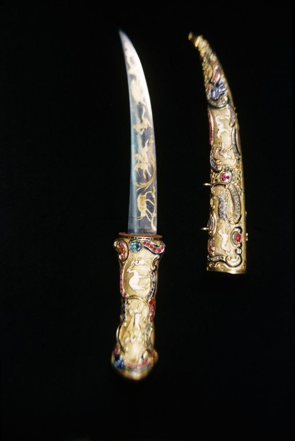 Dagger and Scabbard, turkish,mid 19th century