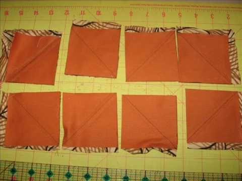 tutorial de patchwork hacer triangulos por metodo de cuadricula.wmv