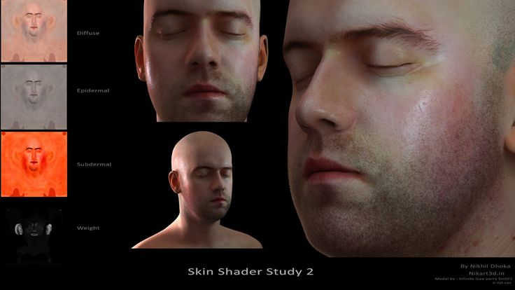 how to apply subsurface scattering to a textured character ?? - Polycount Forum