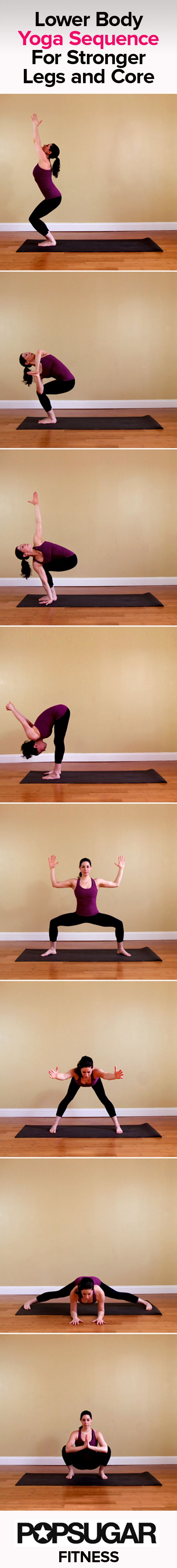 Make the right move even in basic yoga posture. why? building your