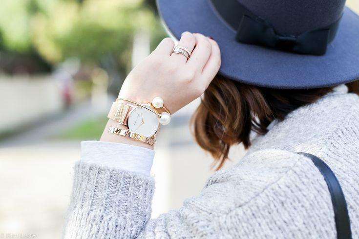 Accessories of the Day - Marc Bale #rosegold #watch