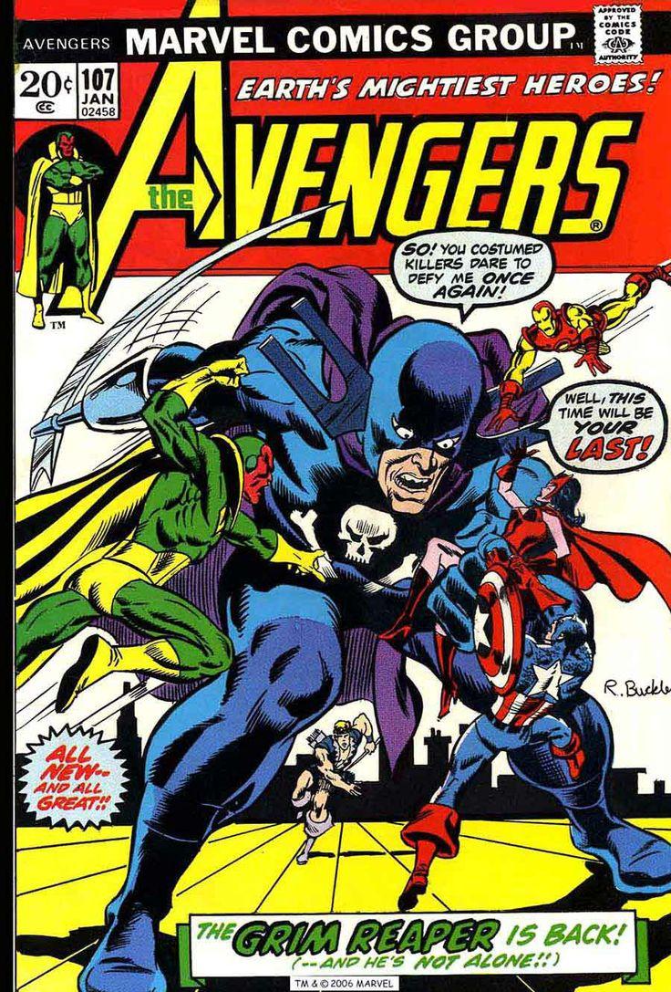 The Avengers 107 ComicsThe AvengersMarvel