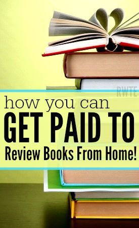 Did you love to read books? Then why not get paid for it? Here's a list of several places that do regularly pay book reviewers to review books for them. Compensation is usually in the form of cash or a free book.