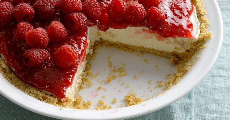 Contest-Winning Raspberry Cream Pie Recipe | Taste of Home