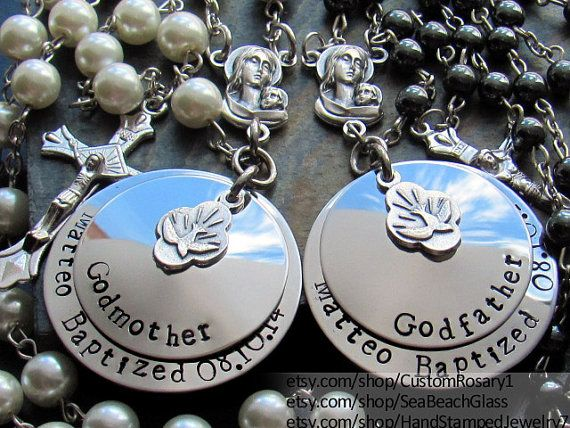 Baptism Gifts for Godparents. Baptism Gift. by BaptismGifts