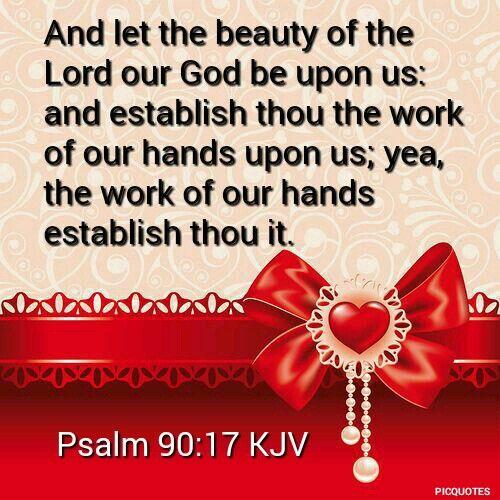 Psalm 90:17 KJV