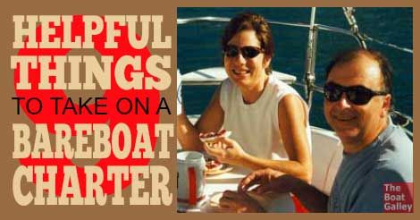 Nine things that take almost no room but you'll love having on a bareboat charter