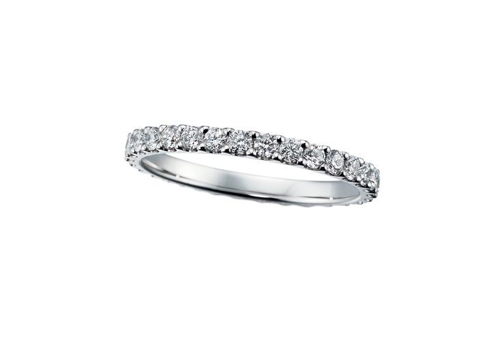 Premium Eternity Rings Marriage Ring 結婚指輪 STAR JEWELRY スタージュエリー Diamond Pt950  Made in Japan http://www.star-jewelry.com/bridal