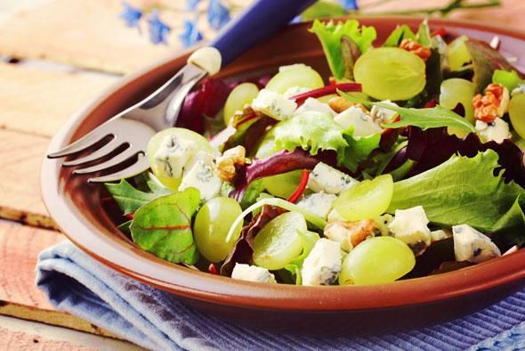 Vijf lekkere '10 minuten' lunchsalades | Heelhardlopen.nl